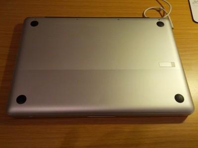 MacBook Unterseite