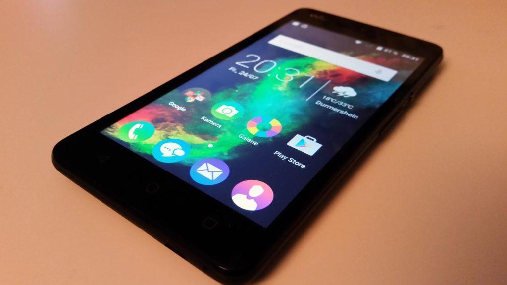 Wiko Rainbow Lite Android 5.0