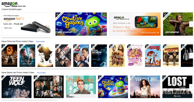 Amazon Prime Instant Video Test