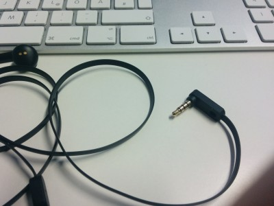 Sudio TVA – flaches Kabel der Ohrhörer