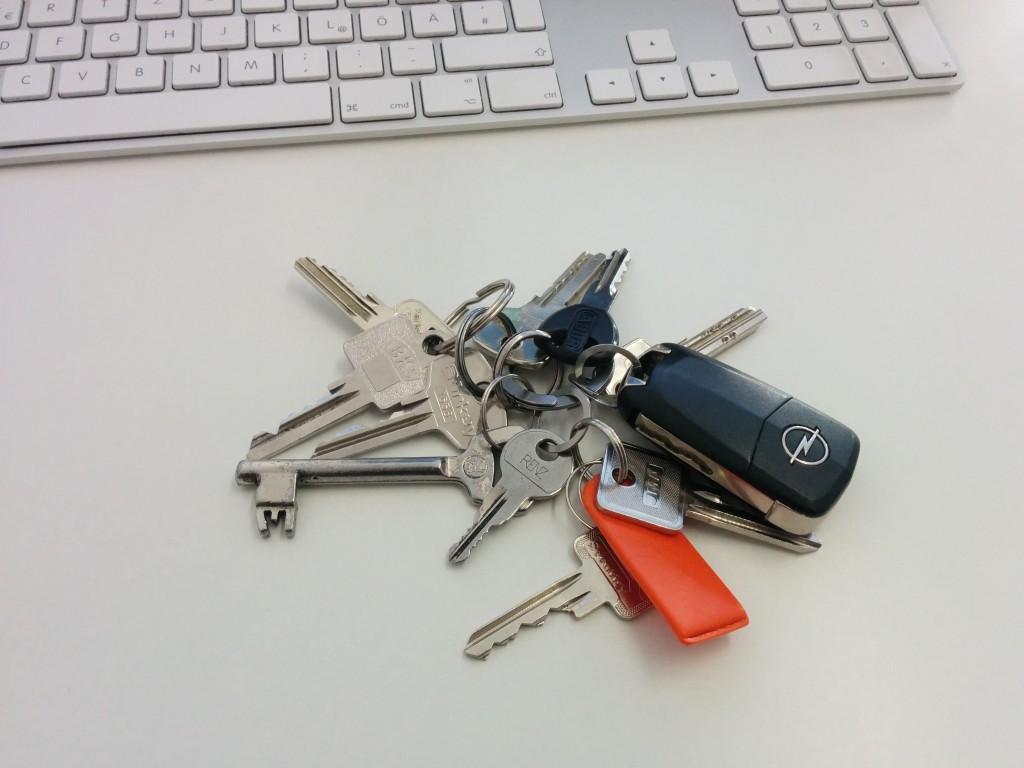 Unordnung und WirrWarr bei Schlüsseln? Bald nicht mehr!