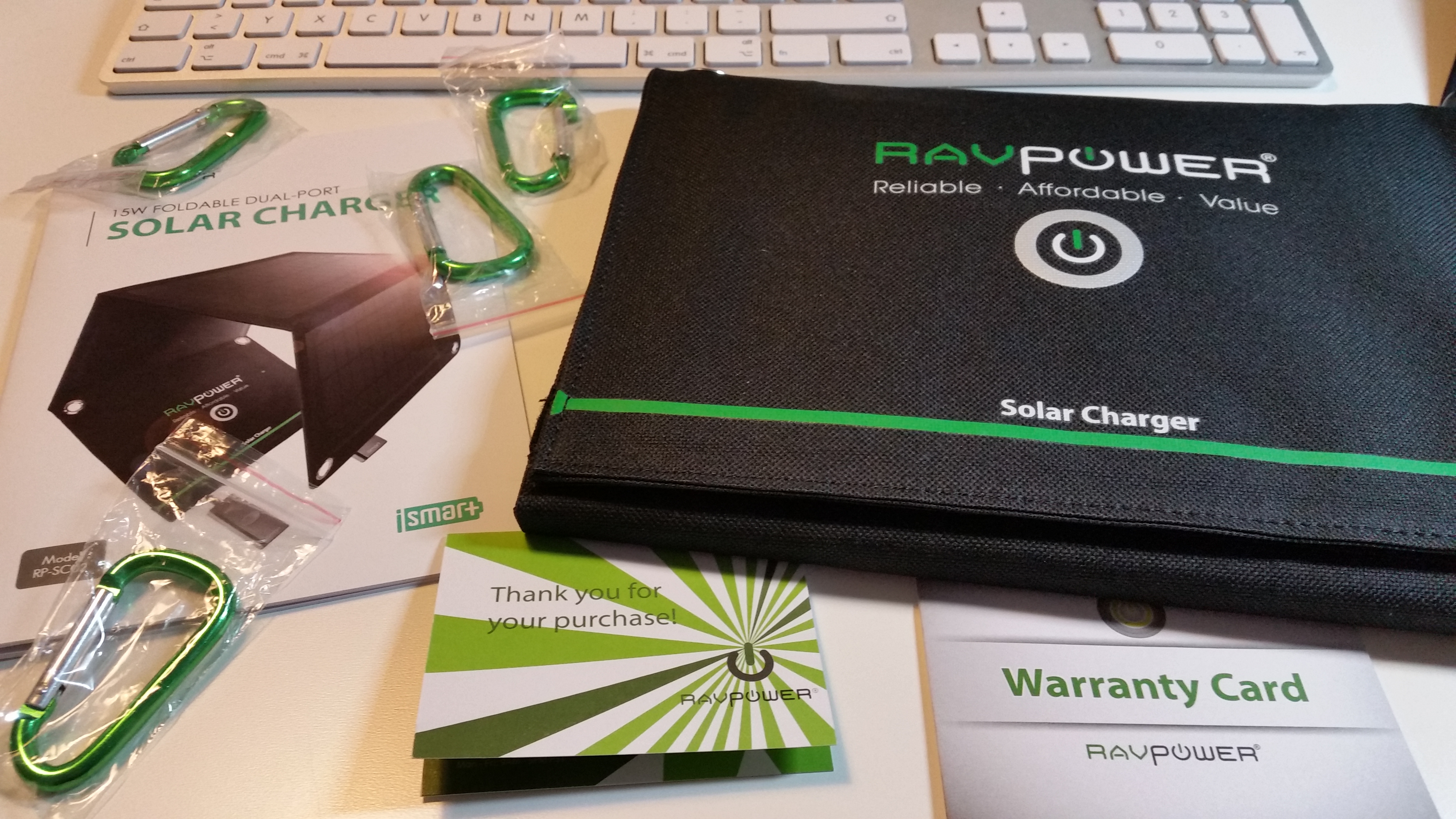 im test ravpower solar ladeger t 15 watt f r usb ger te. Black Bedroom Furniture Sets. Home Design Ideas