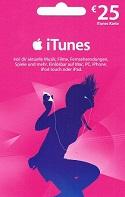 25 Euro iTunes Karte