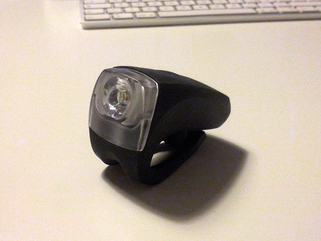 Knog Licht mit Silikonmantel