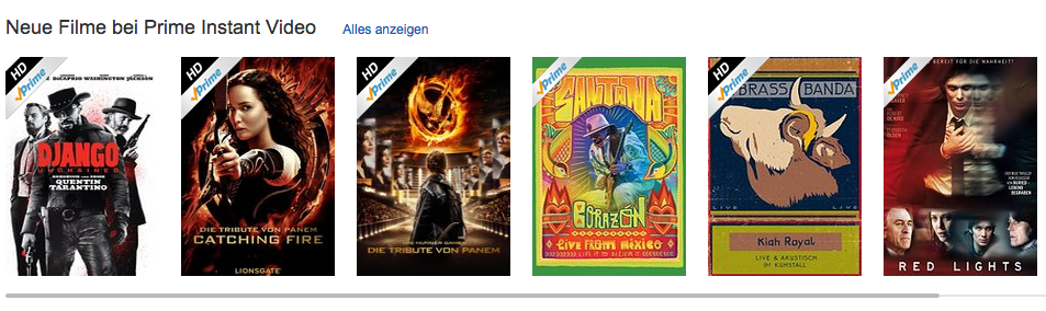 neue Filme bei Amazon Instant Video
